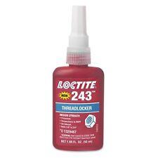 "Loctite 1329467 243 Blue Medium Strength Threadlockers, 1.69 oz., 50 mL, 3/4""..."