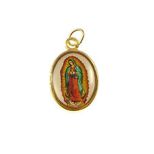 Our lady of guadalupe Virgin Mary christian rosary medal pendant Catholic