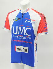 Hincapie Women's 2XL UMC Arizona Short Sleeve Cycling Jersey Blue/White CLOSEOUT