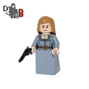 Westworld Dolores Abernathy Minifigure. Made using LEGO & custom parts.