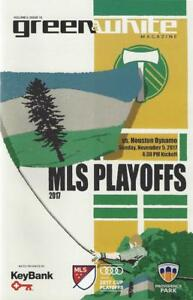 Portland Timbers 'Green & White' MLS Soccer/Football Program Volume 6, Issue 18