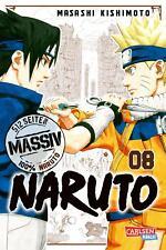 NARUTO Massiv 8 - Deutsch - Carlsen Manga - NEUWARE