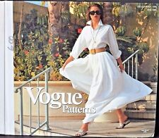 Vogue patterns catalog Vintage Summer 1990 FRENCH store display counter book