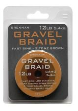 Drennan Gravel Braid Braided Line All Sizes Coarse Fishing