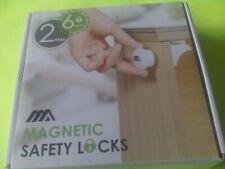 Magnetic Cabinet Safety Child Safety 6 Locks + 2 Key
