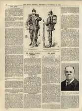 1891 soldado de infantería alemana orden pesado marchando Disfraz Capitán Jephson