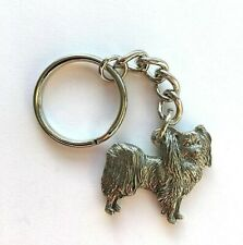 Papillon Keyring in Copyrighted Antiqued Pewter Gifts