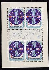 Tschechoslowakei 1975 Kleinbogen MiNr. 2282   Erforschung des Weltalls