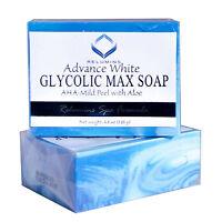 Authentic Relumins Glycolic Max Soap AHA-Mild Peel With Aloe-Spa Formula