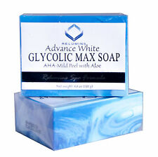 Authentic Relumins Glycolic Max Soap AHA-Mild Peel With Aloe-Spa Formula