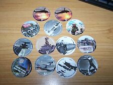 New listing 5th Print Set of 5 Cent s Aafes Pogs 2004 About Uncirculated