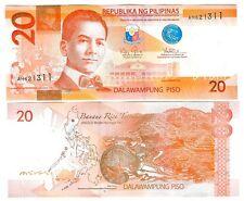 PHILIPPINEN PHILIPPINES 20 PISO 2013  UNC P 206