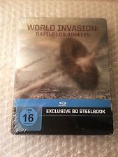 World Invasion Blu Ray limited Steelbook, Region Free