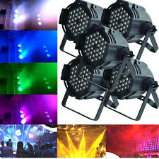 5Pcs Hot 54W LED Stage Light RGBW PAR64 DMX-512 Disco XMAS Club Party Show