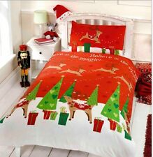 CHILDREN CHRISTMAS BEDDING BELIEVE IN MAGIC SINGLE FESTIVE