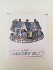 Liberty Falls Collection Ah157 Reverend Muir's Cottage in Box. 1998