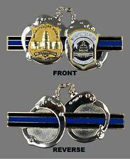 "Metropolitan Police, D.C. ""Handcuffs"" Challenge Coin"