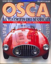OSCA by Orsini and Zagari - rare book - Maserati interest