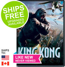 King Kong (DVD 2006 Widescreen) ✴LIKE NEW✴ Naomi Watts, Adrien Brody, Jack Black