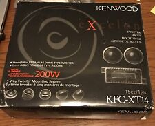 "Kenwood Excelon KFC-XT14 3/4"" Tweeters With Crossovers 200W"