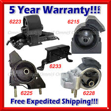 K409 Fit 1990-1992 Toyota Corolla 1.6L 2WD Motor & Trans Mount for MANUAL TRANS