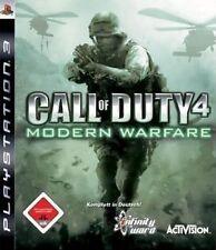 SONY PS3 Call of Duty 4 Modern Warfare 1 MW CoD komplett günstig online deutsch