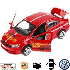 Diecast Metal Model Car VW Volkswagen Polo Sport Toy Die-cast Cars