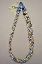"""Curtain & Chair Tie Back - 27"""" Braided - 7 colors-ways to choose from!"""