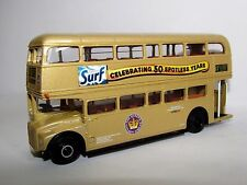 EFE ROUTEMASTER RML GOLD LONDON GENERAL ROUTE 12 SURF 1/76 25514C