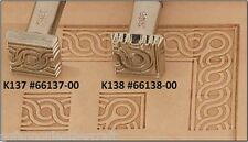 Craftool Leather/Clay Embossing Stamps - Weaved Circle Border (66138/37-00)