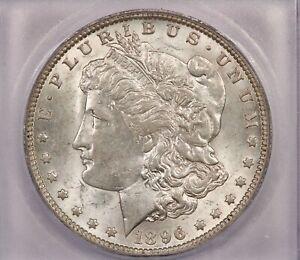 1896-O 1896 Morgan Silver Dollar S$1 ICG MS60