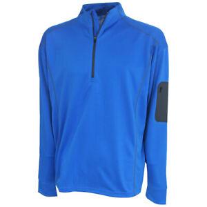 Forrester's Men's 1/2 Zip Performance Golf Pullover, Brand NEW