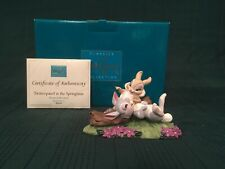 "WDCC Bambi - Thumper & Miss Bunny ""Twitterpated in the Springtime"" + Box/COA"