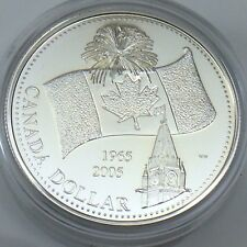 2005 Proof 40th Anniversary National Flag RCM Royal Canadian Mint Coin G914