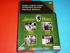 Colección SHERLOCK HOLMES - 4 DVD - Precintada