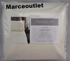 Charter Club Select 700 TC Egyptian Cotton Blend QUEEN Sheet Set Ivory
