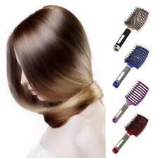 Women Hair Scalp Massage Comb Bristle Nylon Hair brush Wet Curly Detangler &