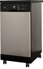 "Sunpentown Spt 18"" Portable Dishwasher-Energy Star- Stainless Steel - Sd-9241Ss"