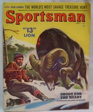 SPORTSMAN MAGAZINE MAY 1954 VINTAGE HUNTING FISHING SPORTING OUTDOORS
