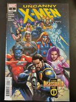 UNCANNY X-MEN #1a (2019 MARVEL Comics) ~ VF/NM Book