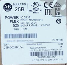 2019/2020 New Sealed AB 25B-D024N104 PowerFlex 525 11kW (15Hp) AC Drive