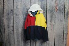 Vintage Tommy Hilfiger Color Block Windbreaker Sailing Gear Jacket Mens Large