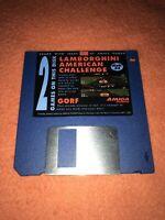 Amiga Power Magazine cover disk 34 Lamborghini American Challenge