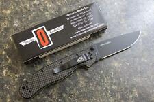 Ontario 8884CF RAT1 Carbon Fiber Scales D2 Blade Folding Knife LIMITED EDITION!