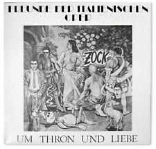 FREUNDE DER ITALIENISCHEN OPER - Um Thron und Liebe Original LP 1991 Vinyl FDIO