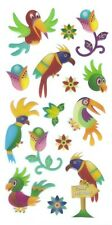 3D Epoxy Gel Stickers Cute Birds Flowers for Scrapbooking sticker Album school