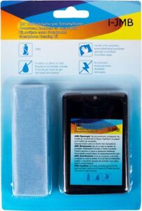 CLEANING KIT MICROFIBER WIPE + SPRAY 18ml CD Surface Smartphone Screen Cleaner
