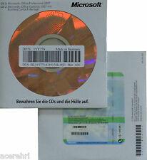 MS Office 2007 Professional versión completa duradera con CD/DVD Access Outlook de