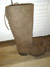 Curfew Girls Boots Size 4 Zipper And Ties Very Cute