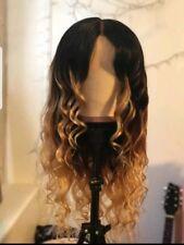 Handmade Brazilian ombre bodywave Human Hair wig ombre 1b/27